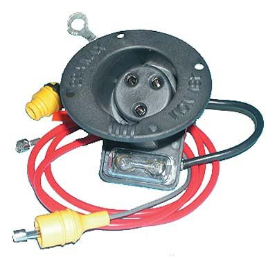 Club Car Charger Receptacle And Fuse Kit. For Electric 48-Volt DS