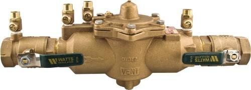 """Watts Water Technologies Backflow System Low Pressure, 1"""" Fip, Lead Free -  289990"""