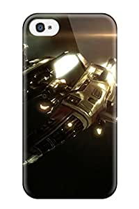 New Snap-on Skin Case Cover Compatible With Iphone 4/4s- Battleship Yamato 7609034K58177374