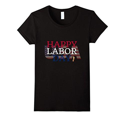 Womens Labor Day 2017 Tshirt Medium Black