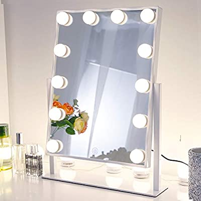 3 Piece vanity for her with glass mirror and picture frame.