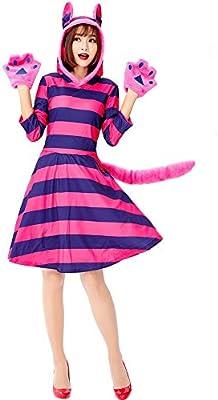 Yolanda Medina Disfraz de Gato de Cheshire Adulto para Mujer ...
