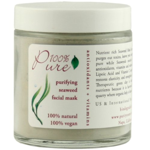 100% Pure Purifying Seaweed - 100% Pure Seaweed Facial Mask 2 oz
