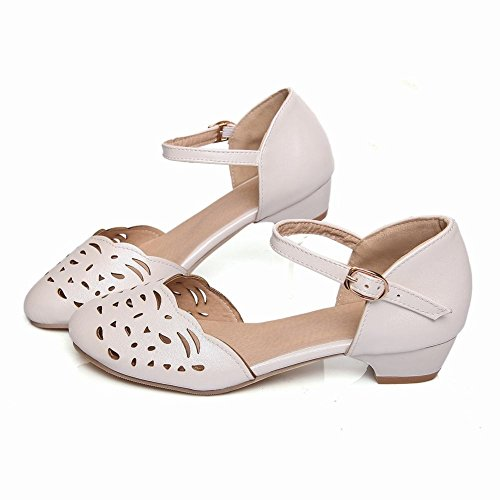 Spectacle Briller Mode Féminine Sweet Mary Janes Chaussures Blanc