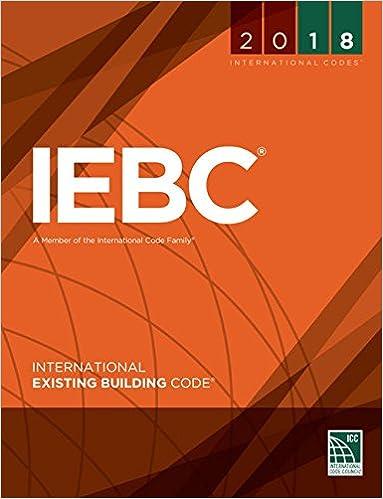 2018 International Existing Building Code (International Code Council Series)