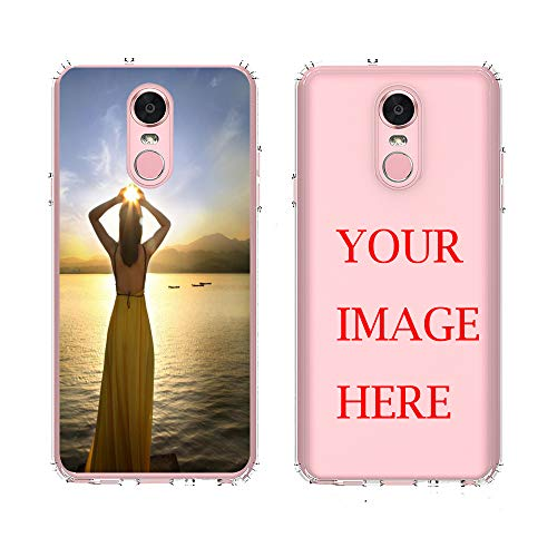 LG Stylo 4 Case,AMASELL Personalized Custom Picture Phone Case,Design Your own Inserts Online Shockproof Clear Transparent Soft Rubber Case,Make Your Unique Phone Case -