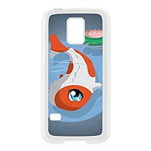 Kawaii PotsuPotsu White Silicon Rubber Case for Galaxy S5 Mini by DevilleArt + FREE Crystal Clear Screen Protector