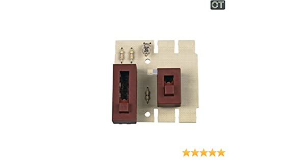 Interruptor Deslizante Pizarra 481921478247 Bauknecht, Whirlpool, IKEA: Amazon.es: Grandes electrodomésticos
