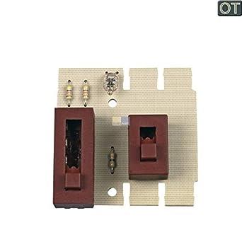 Interruptor Deslizante Pizarra 481921478247 Bauknecht, Whirlpool ...