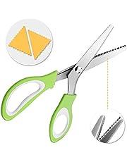 Baban Tijeras 5MM Triángulo Dentado paño Tijeras Tijeras Tijera Dental Material de la Manija ABS + Acero Inoxidable