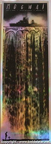 2006 Mogwai Holofoil Silkscreen Concert Poster by Todd Slater