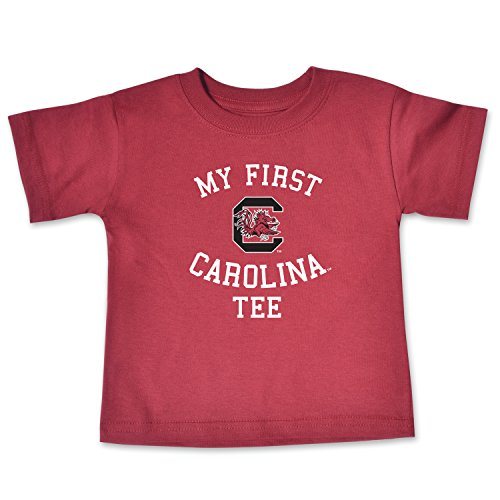 NCAA South Carolina Fighting Gamecocks Infant Short Sleeve Tee, 6 Months, Cardinal