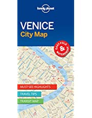 Lonely Planet Venice City Map 1 1st Ed.