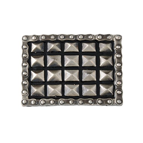 Pyramid Buckle - Pyramid Studs and Chain Belt Buckle