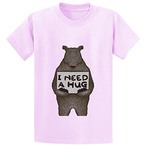 i-need-a-hug-teen-crew-neck-personalized-shirts-pink