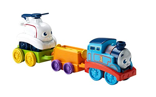 Fisher-Price My First Thomas & Friends, Roll & Spin Rescue Train