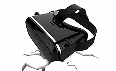 2016 VR Headset 3D Virtual Reality Glasses Compatiblefor 4-6 inch Smartphones iPhone 6 6 Plus, Samsung Galaxy S6 edge, Note 4 3, etc
