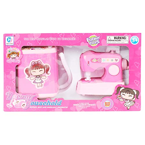 Planet of Toys Battery Operated Electric Washing Machine, Sewing Machine Set 41DuW3zJyKL India 2021
