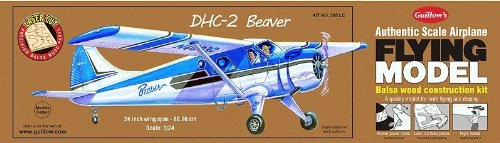 Guillow's Beaver DHC-2 Laser Cut Model Kit (Guillows Model Airplane Kits compare prices)