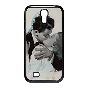 Samsung Galaxy S4 9500 Cell Phone Case Black_aj23 old couple love vintage art illust anderson harry Drchn