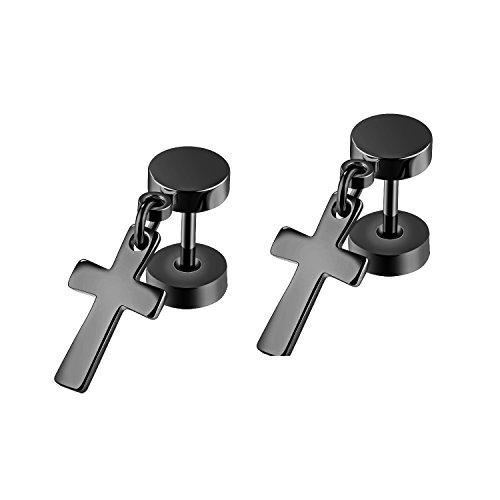 Religious Jewelry Store Black Cross - 3