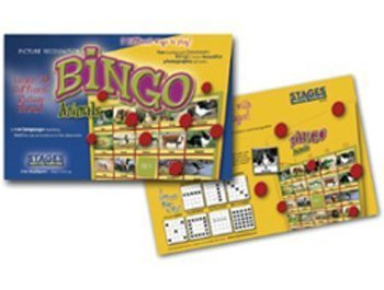 - Kid's Real-Life Picture Bingo Game - Animal by ConstructivePlaythings