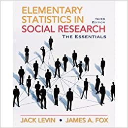 Elementary Statistics in Social Research: Essentials (3rd