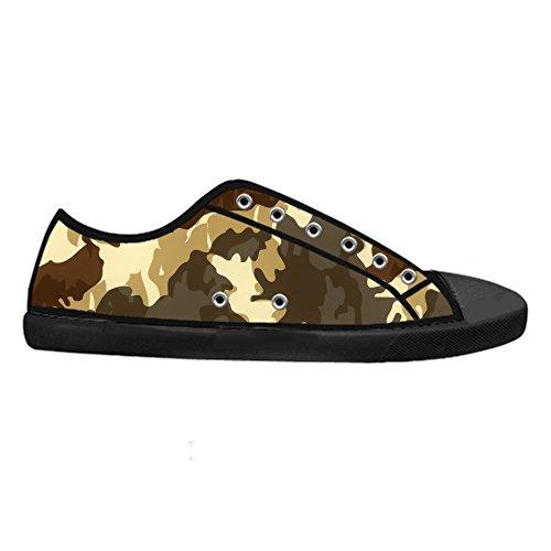 Custom Camouflage Mens Canvas shoes Schuhe Lace-up High-top Sneakers Segeltuchschuhe Leinwand-Schuh-Turnschuhe E