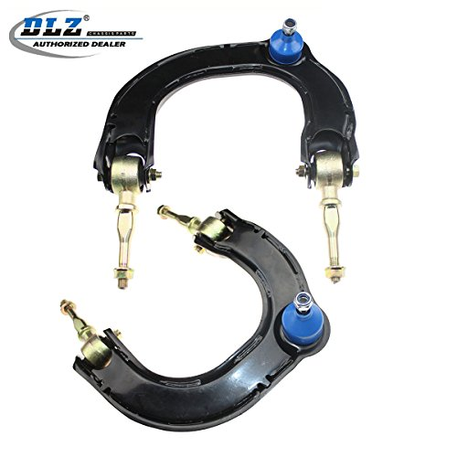 DLZ 2 Pcs Front Upper Control Arm Ball Joint Assembly Compatible with 1999-2005 Sonata 2001 XG300 2002-2005 XG350 Fit for 2001-2006 Magentis Optima K620103 K620104 (Sonata Control Arms)