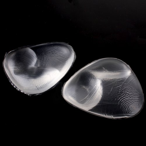 Amazon.com : Sealike Waterproof Triangle Silicone Bra Bikini Gel Inserts Push-up Breast Pads Swimsuit and Bra Inserts Cleavage Enhancer Enhancement Falsies ...