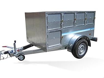 Remolques para transportar perros (STAR BASIC DOG): Amazon.es: Coche y moto