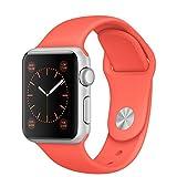 APPLE(アップル) Apple Watch Sport 38mmシルバーアルミニウムケースとアプリコットスポーツバンド