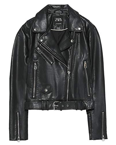 Used, Zara Women Faux Leather Jacket 3427/005 (Small) Black for sale  Delivered anywhere in USA