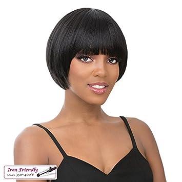 Amazon.com: It s a peluca. – Avant grado de corte tazón Bob ...