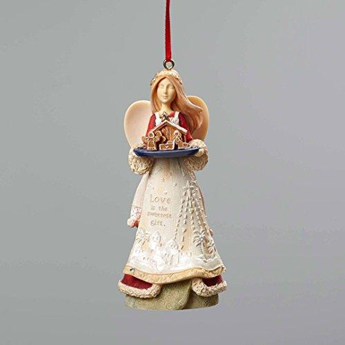 Enesco Heart Christmas Nativity Ornament