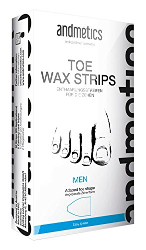 Price comparison product image Andmetics Depilatory Strips for Men Toes