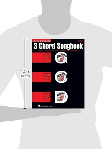Amazon The Guitar Three Chord Songbook Play 50 Rock Hits With