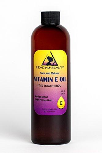 Tocopherol T-50 Vitamin E Oil Anti Aging Natural Premium Pure 36 oz Vitamin E 400 Iu Moisturizing Vitamins