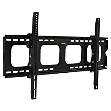 "Mount-It! Premium Universal Heavy-Duty Tilt Tilting Wall Mount Bracket For Samsung, Sony, Vizio, LG, Panasonic, LCD, LED Or Plasma Flat Screen TVs Sizes 42"" To 70"" (42 Inch - 70 Inch), Many up To 75"" - 15 Degree Tilt Mechanism Up and Down, Max VESA 850x450 mm, 220 lbs Capacity, Integrated Bubble Level"