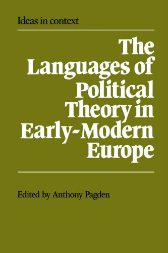 The Languages of Political Theory in Early-Modern Europe (Ideas in Context) by Brand: Cambridge University Press