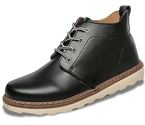 Bureau Hommes Chaussures Carrière Brun D'affaires En Mariage Cuir Black De Noir Occasionnels Robe Véritable LINYI qAaRHwvR