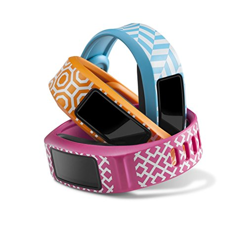 Garmin vívofit2 Style Collection Wrist Bands (Small) (Pink/Orange/Cyan)