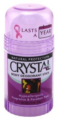 4.25 Ounce Stick - Crystal Body Deodorant Stick, 4.25 Ounce -- 6 per case. by CRYSTAL
