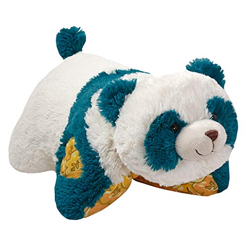 Pillow Pets Sweet Scented Popcorn Panda Stuffed Plush Toy for Sleep, Play, Travel, and Comfort - Great for Boys and Girls of All Ages