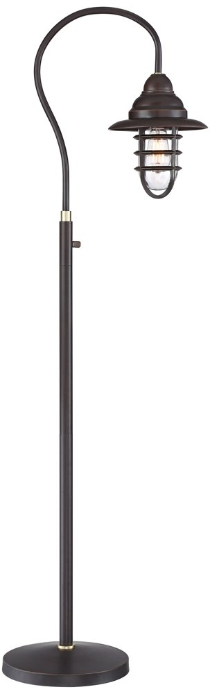 Franklin Iron Works Knox Oil-Rubbed Bronze Floor Lamp by Franklin Iron Works