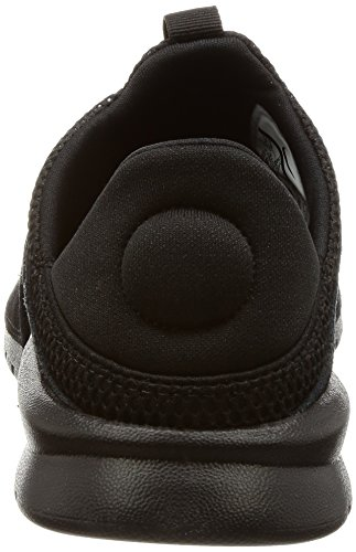 Nike BENASSI SLP Mens fashion-sneakers 882410-003_9.5 - BLACK/BLACK-BLACK by NIKE (Image #2)