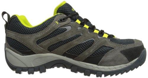 Hitachi Trail Blazer Wp - Zapatillas de senderismo Hombre Negro carbón