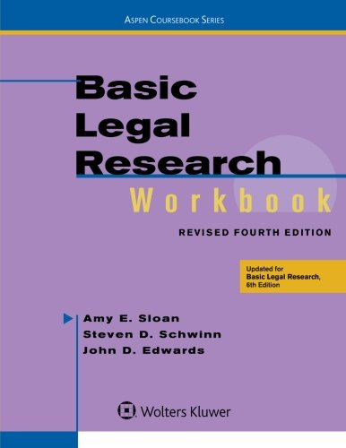 Basic Legal Research Workbook,Revised