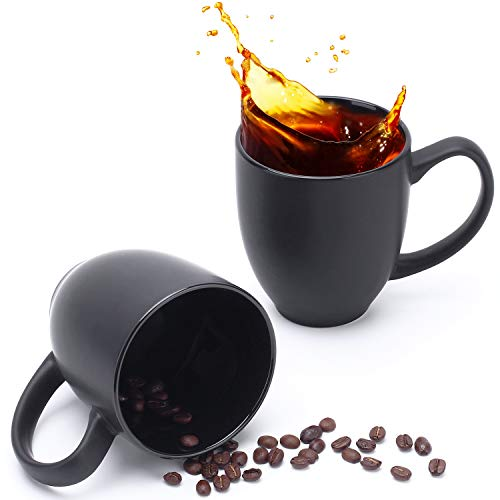 coffee cup set black - 3