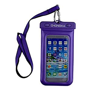 Fancy Design 2015 Phone Waterproof Bag For iphone6 plus ,Color:Blue Protective Smartphone Shell